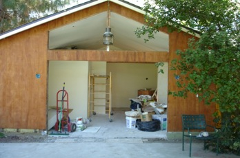 Guest House During Remodeling