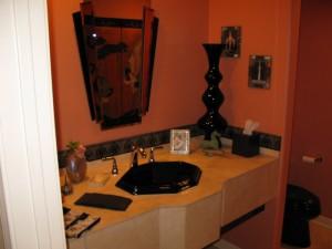HUGS Construction -Studio City green bathroom remodeling