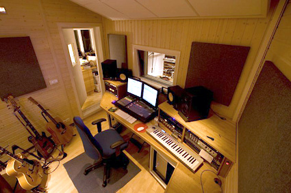Hugs Construction Home Recording Studio